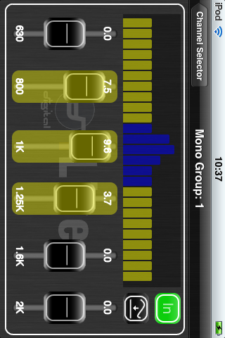 Allen & Heath iLive Tweak Screenshots.